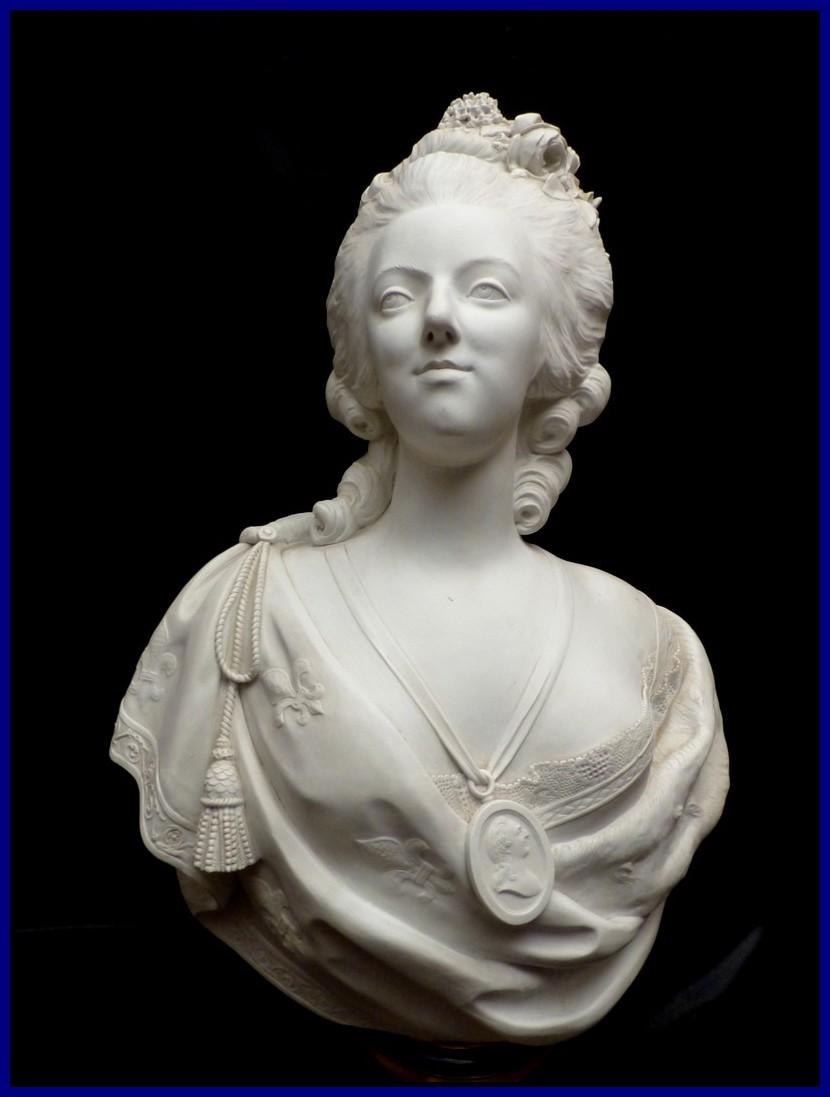 Gâteau Assiette D 20,1 cm empereur Marie-Antoinette Marianne
